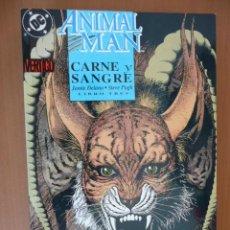 Cómics: ANIMAL MAN. CARNE Y SANGRE. LIBRO TRES. ZINCO. Lote 27216598