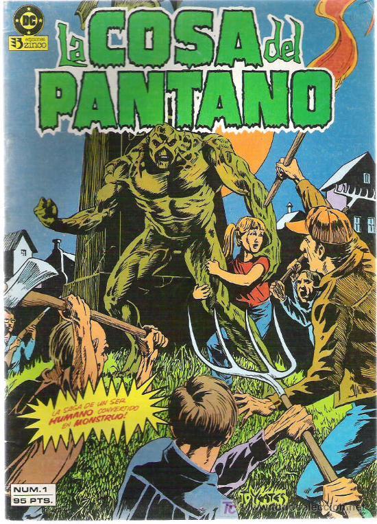LA COSA DEL PANTANO **** NUM 1 1984 (Tebeos y Comics - Zinco - Cosa del Pantano)