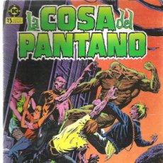 Cómics: LA COSA DEL PANTANO *** LA CIUDAD DOMINADA POR LA IRA ***Nº 3 1985. Lote 8871594