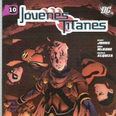 Cómics: JOVENES TITANES - EL ALZAMIENTO DE RABEN Nº 10. Lote 9109982