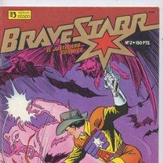 Cómics: BRAVE STARR Nº 2 - EL JUSTICIERO COSMICO - ZINCO 1987. Lote 23322344