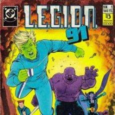 Cómics: LEGION 91 - LEGION 92 (ZINCO) ORIGINAL 1991-1992 COMPLETA + ESPECIAL. Lote 26515629