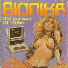 Cómics: BIONIKA (ZINCO) ORIGINAL 1986 Nº.1. Lote 26830671
