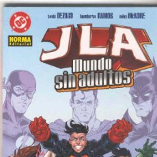 Cómics: JLA . MUNDO SIN ADULTOS.. Lote 22608954