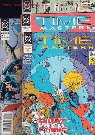 TIME MASTERS , LOS AMOS DEL TIEMPO - SERIE COMPLETA EN 8 EJEMPLARES - EDITA : ZINCO (Tebeos y Comics - Zinco - Otros)