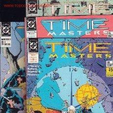 Cómics: TIME MASTERS , LOS AMOS DEL TIEMPO - SERIE COMPLETA EN 8 EJEMPLARES - EDITA : ZINCO. Lote 8439106