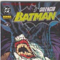 Cómics: BATMAN. SILENCIO. Nº 3. Lote 20851418
