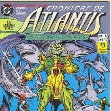 Cómics: CRONICAS DE ATLANTIS Nº 4. Lote 26464700