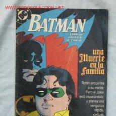 Cómics: BATMAN. Lote 16170385