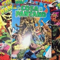 Cómics: LA COSA DEL PANTANO - ZINCO 1984 - COLECCION COMPLETA - 10 EJEMPLARES - THE SWAMP THING - COMO NUEVO. Lote 106967359