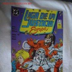 Cómics: LIGA DE LA JUSTICIA EUROPA Nº 10. Lote 1818842