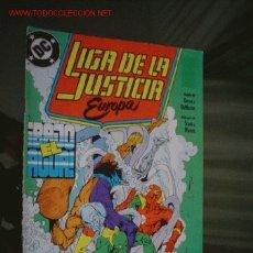 Cómics: LIGA DE LA JUSTICIA EUROPA Nº 2. Lote 1818855