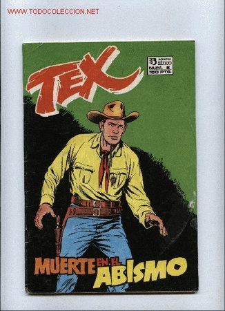 TEX MUERTE EN EL ABISMO Nº 6 AÑO 1988 (Tebeos y Comics - Zinco - Otros)