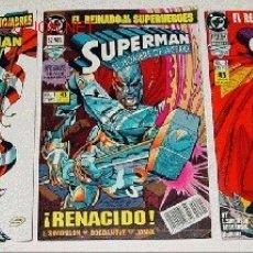 Cómics: LOTE DE 3 COMICS EDICIONES ZINCO - SUPERMAN Nº 1 - 2 - 3.. Lote 2105145