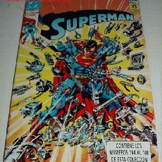 Cómics: SUPERMAN EDICIONES ZINCO NUMEROS 104 - 105 - 106 - 107 - 108 EN UN TOMO Nº 30. Lote 2105196