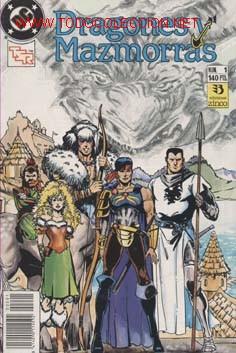 DRAGONES Y MAZMORRAS COLECCION -COMPLETA- EN DOS RETAPADOS CAJA 136 (Tebeos y Comics - Zinco - Retapados)