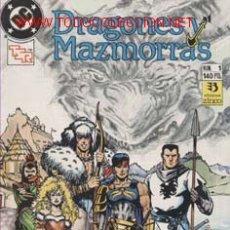 Cómics: DRAGONES Y MAZMORRAS COLECCION -COMPLETA- EN DOS RETAPADOS CAJA 136. Lote 20859147