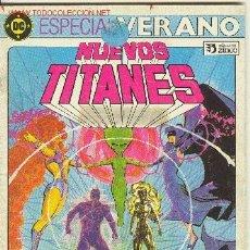Cómics: NUEVOS TITANES. ESPECIAL VERANO. Lote 26637916