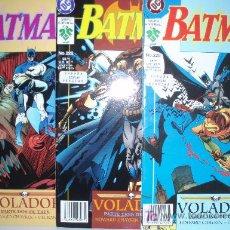 Cómics: OCASION:BATMAN, VOLADOR:COMPLETA 3 NÚMEROS EN OFERTA. Lote 110019983