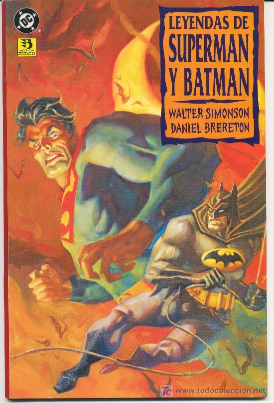 OCASION : LEYENDAS DE SUPERMAN Y BATMAN TOMO NUM 2, OFERTA (Tebeos y Comics - Zinco - Prestiges y Tomos)