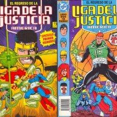 Cómics: EL REGRESO DE LA LIGA DE LA JUSTICIA AMERICA POR DAN JURGENS. Lote 148173429
