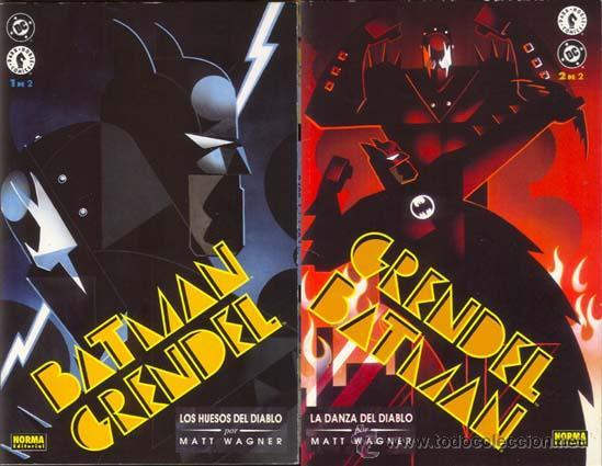 BATMAN GRENDEL LOS HUESOS DEL DIABLO POR MATT WAGNER. SERIE COMPLETA (Tebeos y Comics - Zinco - Batman)