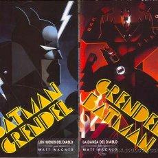 Cómics: BATMAN GRENDEL LOS HUESOS DEL DIABLO POR MATT WAGNER. SERIE COMPLETA. Lote 27347516