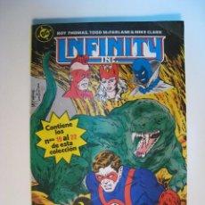 Comics : COMIC INFINITY INC. TOMO 5; ZINCO (Nº 19 AL 22). Lote 9959667