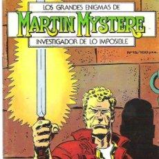 Cómics: MARTIN MYSTERE - EL INVESTIGADOR DE LO IMPOSIBLE *** LA ESPADA DEL REY ARTURO Nº 15 1982. Lote 9980552