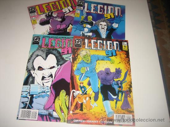 LEGION 91 NºS 1 AL 4 (Tebeos y Comics - Zinco - Legión 91)