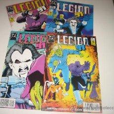 Cómics: LEGION 91 NºS 1 AL 4. Lote 27236465