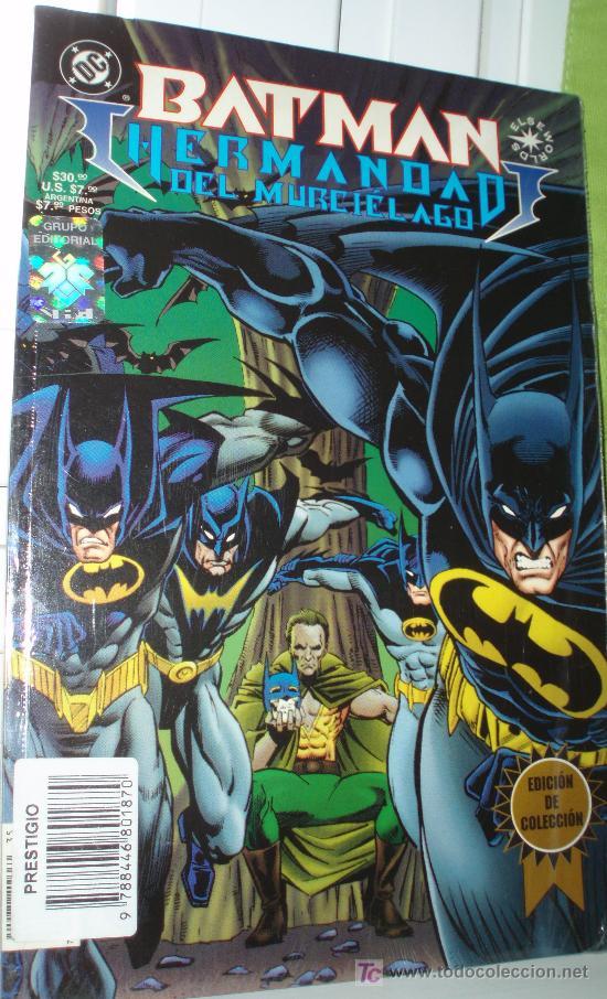 BATMAN ,HERMANDAD DEL MURCIELAGO-GALERÍA NOCTURNA, (EDICION DE COLECCION). (Tebeos y Comics - Zinco - Prestiges y Tomos)