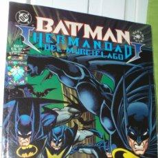 Cómics: BATMAN ,HERMANDAD DEL MURCIELAGO-GALERÍA NOCTURNA, (EDICION DE COLECCION).. Lote 103314904