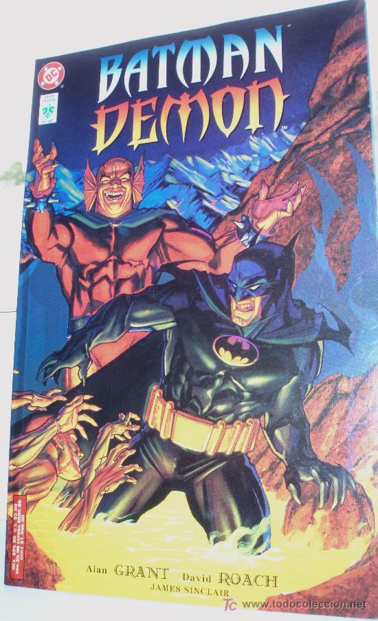 BATMAN ,DEMON, (ALAN GRANT). (Tebeos y Comics - Zinco - Prestiges y Tomos)