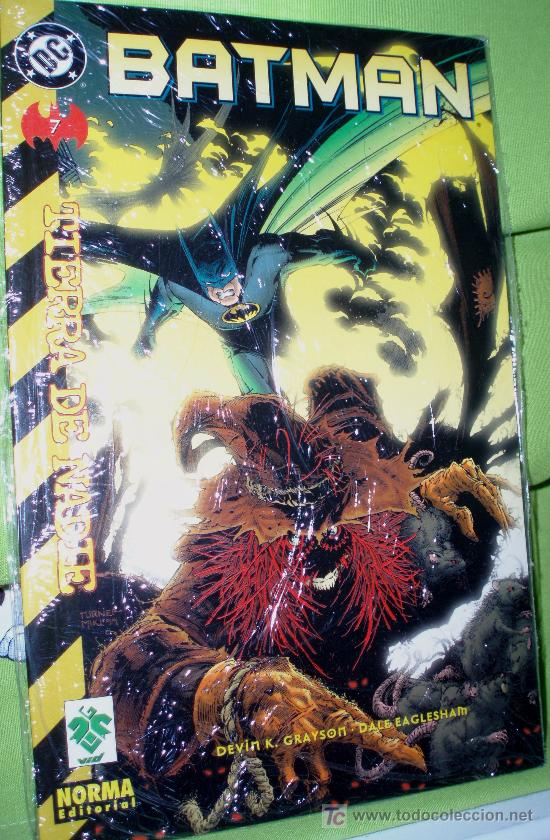 BATMAN ,TIERRA DE NADIE (Tebeos y Comics - Zinco - Prestiges y Tomos)