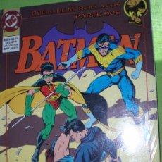 Cómics: BATMAN : DUELO DE MURCIELAGOS (PARTE DOS). Lote 26400437