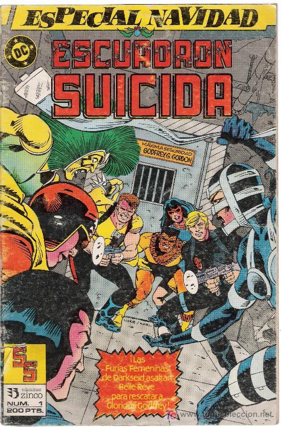 ESCUADRÓN SUICIDA.ZINCO Nº 1.ESPECIAL NAVIDAD (1988) (Tebeos y Comics - Zinco - Otros)