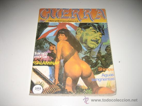 GUERRA - RETAPADO DE 6 NºS. ZINCO (Tebeos y Comics - Zinco - Retapados)