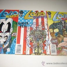 Cómics: LOBO - NFANTICIDIO - 4 NºS COMPLETA. Lote 188684100