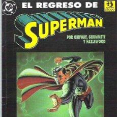 Cómics: EL REGRESO DE SUPERMAN 1993. Lote 11317625