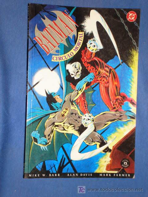 BATMAN * CIRCULO MORTAL * BARR * DAVIS * FARMER * EDITORIAL ZINCO * AÑO 1992 * (Tebeos y Comics - Zinco - Batman)