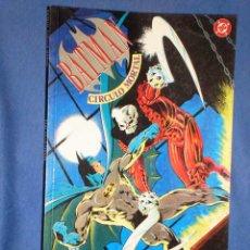 Cómics: BATMAN * CIRCULO MORTAL * BARR * DAVIS * FARMER * EDITORIAL ZINCO * AÑO 1992 *. Lote 17657324