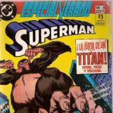 Cómics: COMIC SUPERMAN Nº 6 LA FURIA DE UN TITAN EDICIONES ZINCO 1984. Lote 26356897