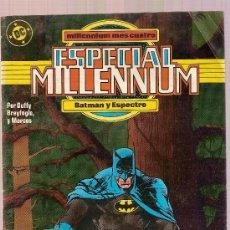 Cómics: COMIC ESPECIAL MILENIUM Nº 5 BATMAN Y ESPECTRO EDICIONES ZINCO. Lote 27262137