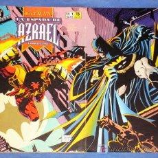 Cómics: BATMAN * LA ESPADA DE AZRAEL * # 1 # 2 # 3 # 4 COMPLETA * FOTOS ADICIONALES * EDITORIAL ZINCO *. Lote 20421534