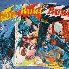 Cómics: BATMAN JUSTICIA CIEGA * 3 COMICS * COMPLETA * FOTOS ADICIONALES * ZINCO *. Lote 20421542