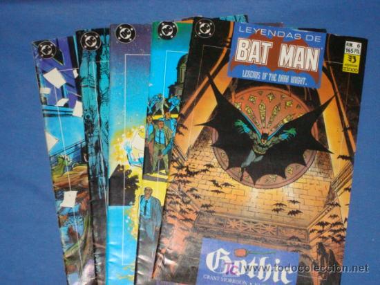 BATMAN GOTHIC * 5 COMICS * COMPLETA * FOTOS ADICIONALES * ZINCO * (Tebeos y Comics - Zinco - Batman)