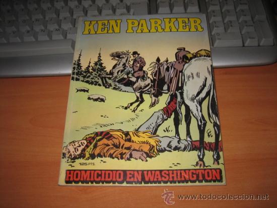 KEN PARKER Nº 4 HOMICIDIO EN WASHINGTON (Tebeos y Comics - Zinco - Otros)