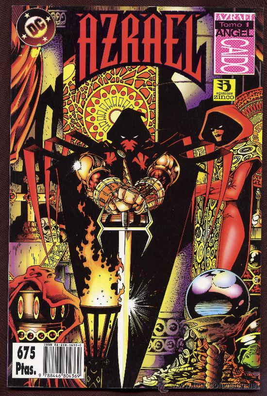 AZRAEL - ANGEL CAIDO - TOMO I - ZINCO. (Tebeos y Comics - Zinco - Prestiges y Tomos)