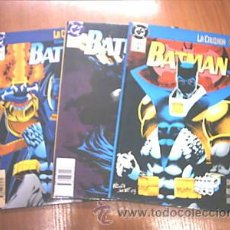 Cómics: BATMAN. SERIE 3 COMICS. ED. ZINCO 1994. C2900. Lote 12067388
